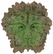 Green Man Gothic (Extra Large) Garden Wall Plaque, The Greenwood Tree