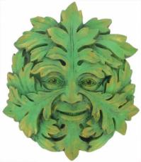 Green Mystic Garden Wall Plaque, The Greenwood Tree