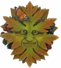 Green Nature Garden Wall Plaque, The Greenwood Tree
