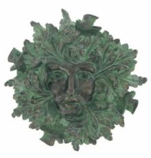 Green Spirit Garden Wall Plaque, The Greenwood Tree