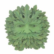 Greenman Majesty Garden Wall Plaque, The Greenwood Tree