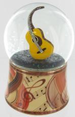 Guitar Glitter Globe