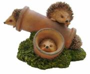Hedgehogs in Pipes