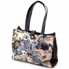 Henry Cats Canvas Tote Bag