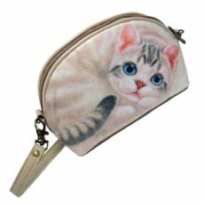 Henry Cats Cherry Wrist Purse Handbag