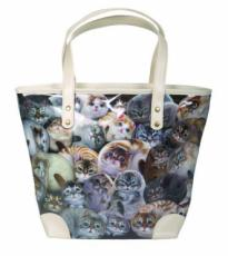 Henry Cats PVC Tote Bag