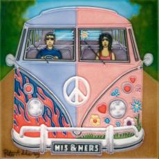 His & Hers Volkswagen Ceramic Picture Tile By Peter Adderley 12