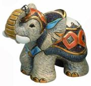 Indian Elephant, Families Collection Figurine by De Rosa