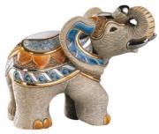 Indian Elephant, Medium Collection Figurine by De Rosa