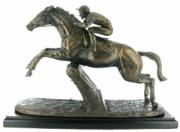 Istabraq Cold Cast Bronze Sculpture by Harriet Glen