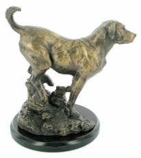 Labrador Cold Cast Bronze Sculpture by David Geenty