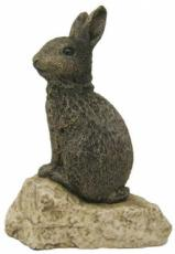 Large Rabbit Figurine by Stoned On Nature