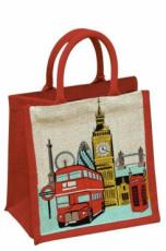 London Traffic Jute Bag