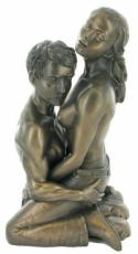 Loves Harmony Cold Cast Bronze Sculpture by Love Is Blue