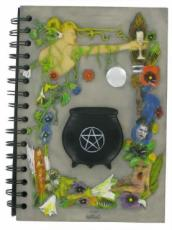 Magnetic Cauldron Notebook in Colour by Tina Tarrant