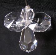 Mini Crystal Angel with Clear Wings
