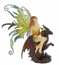 Mini Fairy on Dragon by Alchemy