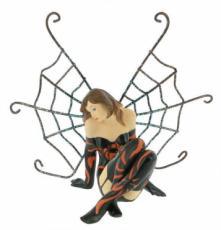 Mini Sitting Spider Fairy