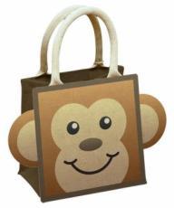 Monkey Jute Bag