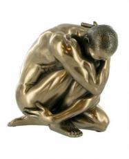 Oliver Cold Cast Bronze Sculpture
