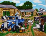 On The Farm Ceramic Picture Tile by Kevin Walsh 11