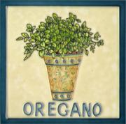 Oregano Ceramic Picture Tile 8
