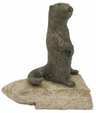Otter Figurine by Stoned On Nature