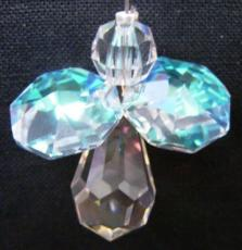 Pack of 2 of each Mini Crystal Angel