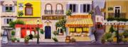 Parisian Street Ceramic Picture Tile by Kevin Walsh 6