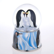 Penguin Pair Waterglobe