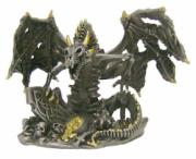 Pewter Dragon Skeleton