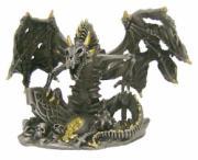 Pewter Dragon Skeleton