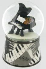 Piano Glitter Globe