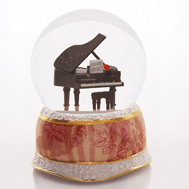Piano Romance Waterglobe