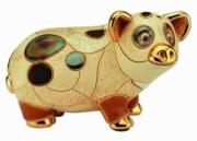 Pig, Anniversary Figurine by De Rosa