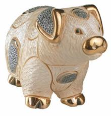 Pig, Families Collection Figurine by De Rosa