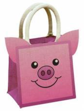 Pig Jute Bag