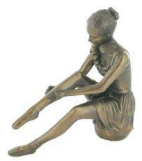 Preparation, Cold Cast Bronze Sculpture by Beauchamp Bronze