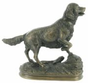 Retriever, Cold Cast Bronze Sculpture by Beauchamp Bronze