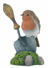 Robin on Trowel (Large)