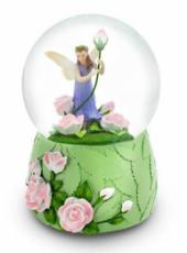 Rose Fairy Snowglobe (Tune: