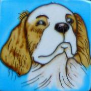 Set of 4 Cavalier King Charles Spaniel Fridge Magnets