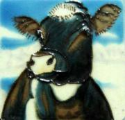 Set of 4 Cow Fridge Magnets