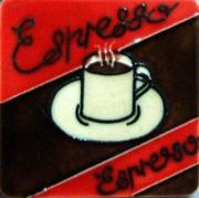 Set of 4 Espresso Fridge Magnets