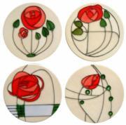 Set of 4 Mackintosh Coasters