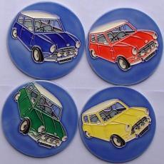 Set of 4 Mini Coasters