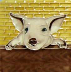 Set of 4 Pig Fridge Magnets