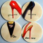 Set of 4 Shoe Coasters