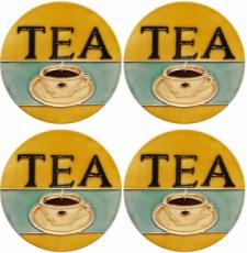 Set of 4 Tea Coasters