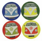 Set of 4 Volkswagen (VW) Campervan Front Coasters